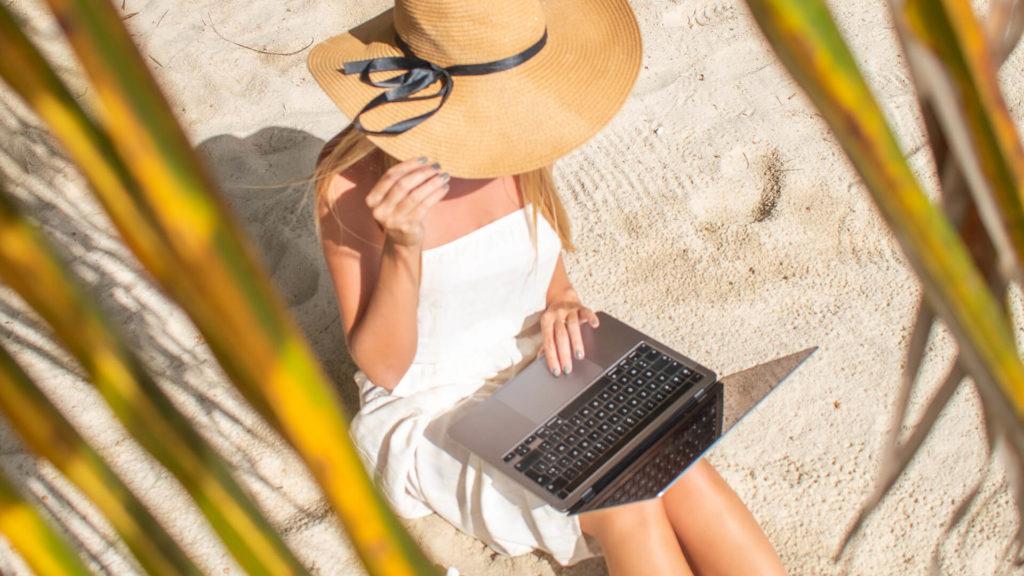 Work on the beach